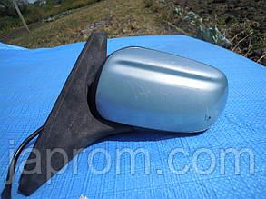 Зеркало заднего вида левое Mazda 323 BJ 1997-2002г.в. хетчбек бирюза