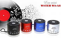 Портативная акустическая система WS-A8 с радио и mp3
