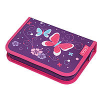 Пенал с наполнением 31 предмет Herlitz Butterfly Purple 50014293