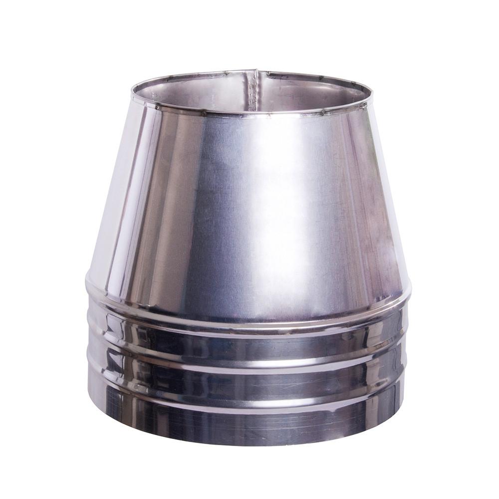 Н/Н Конус вент. двуст. (АISI 304/430) d130/200 мм