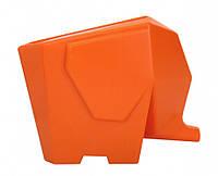 Сушилка для посуды и столовых приборов Слон Orange