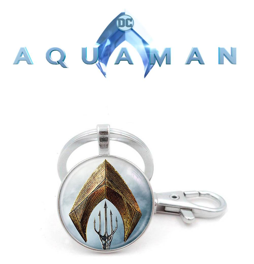 Брелок Лого и трезубец Аквамен / Aquaman