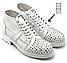 Шнурки для обуви плоские KIWI 100 см белые, фото 2
