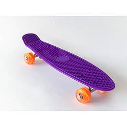 Пенни борд городской Penny Board скейт детский 56 х 15 см до 80 кг много цветов
