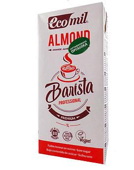 Растительное молоко из миндаля Бариста Ecomil 1 л