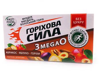 Пастила Абрикос Яблоко Орех серия Ореховая сила Pasti Food 50 г