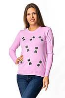 Молодежный свитер на девочку 44-46 (в расцветках)