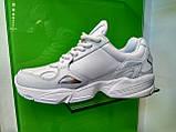 Жіночі кросівки Adidas falcon white, фото 2