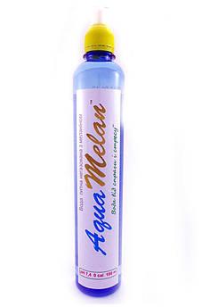 Вода негазированная с меланином, cпортивная бутылка AquaMelan 500 мл