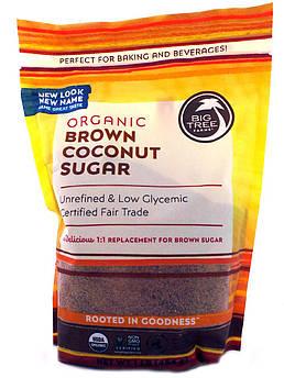 Кокосовый сахар коричневый органический Big Tree Farms 454 г