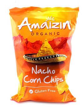 Кукурузные чипсы органические с сыром Без глютена Amaizin 150 г