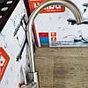Хайба смеситель из нержавейки для кухни Sus 011 - Фото
