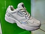 Жіночі кросівки Adidas falcon white, фото 6