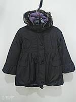 Куртка детская теплая, цвет темно серый, , Англия, размер 4-5 лет