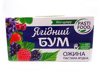 Пастила Фруктовая без сахара Ежевика Яблоко Pasti Food 50 г