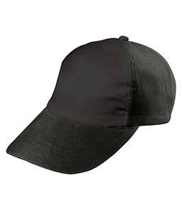 Детская пятипанельная кепка Чёрный