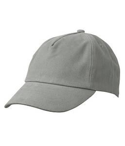 Детская пятипанельная кепка Тёмно-Серый