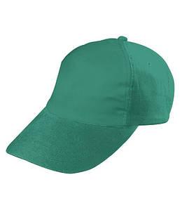 Детская пятипанельная кепка Ярко-Зелёный