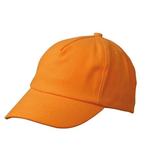 Дитяча пятипанельная кепка Помаранчевий