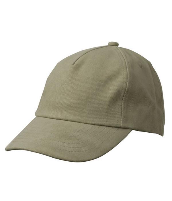 Детская пятипанельная кепка Хаки