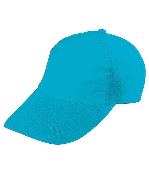 Дитяча пятипанельная кепка MTUR Бірюзовий