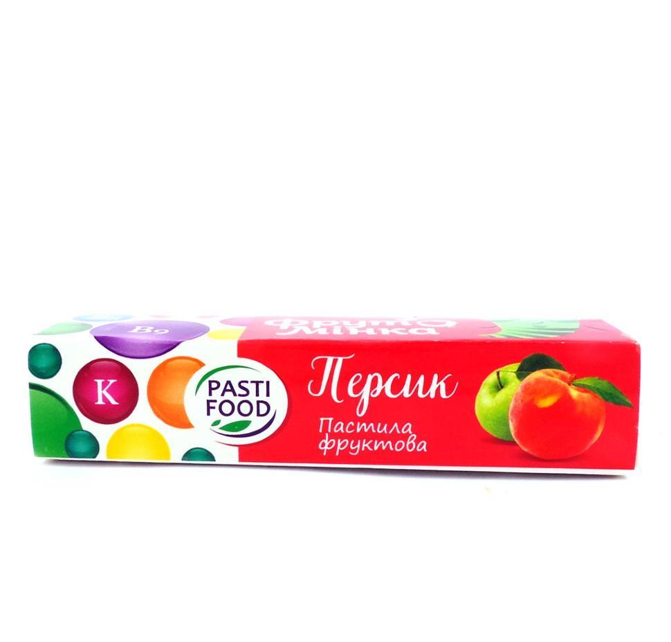 Пастила Персик Яблоко без сахара Pasti Food