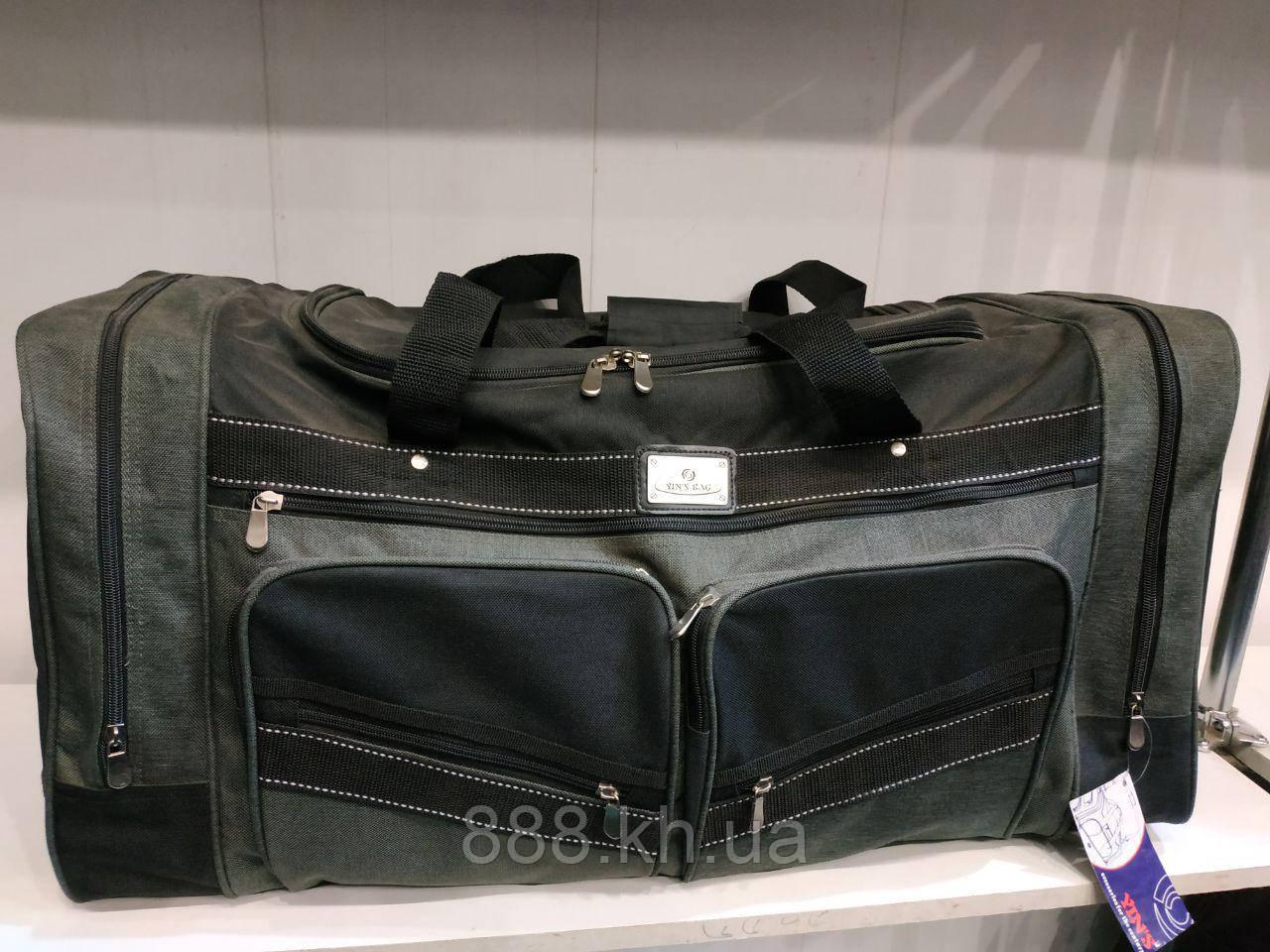 Дорожная универсальная сумка, сумка для поездок, дорожная сумка (темно-серый)