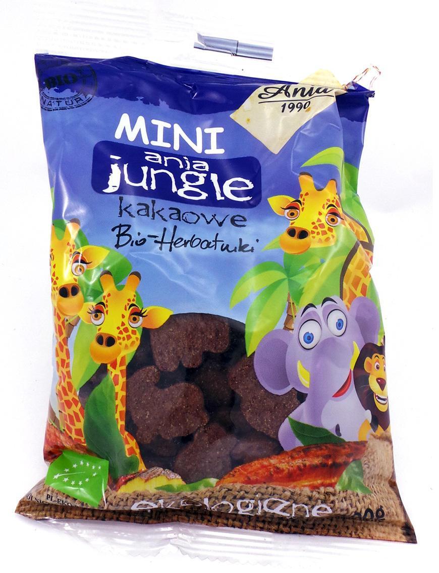 Печенье с какао Mini Zoo Bio Ania 100 г