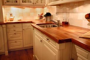 Дерев'яні стільниці для кухні від виробника