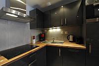Столешница на кухню из массива дерева 40 мм толщиной, фото 1