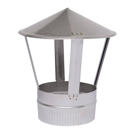 AISI 304 Зонт вент. s0,5 мм d100 мм, фото 2