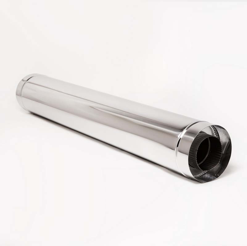 Н/Н Труба двуст. (АISI 304/430) L1 м d110*180 мм термо