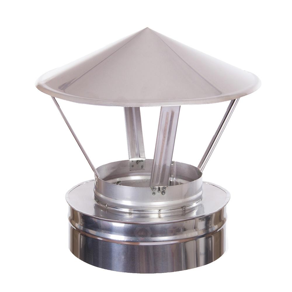 Н/Н Зонт вент. двуст. (АISI 304/430) d130/200 мм