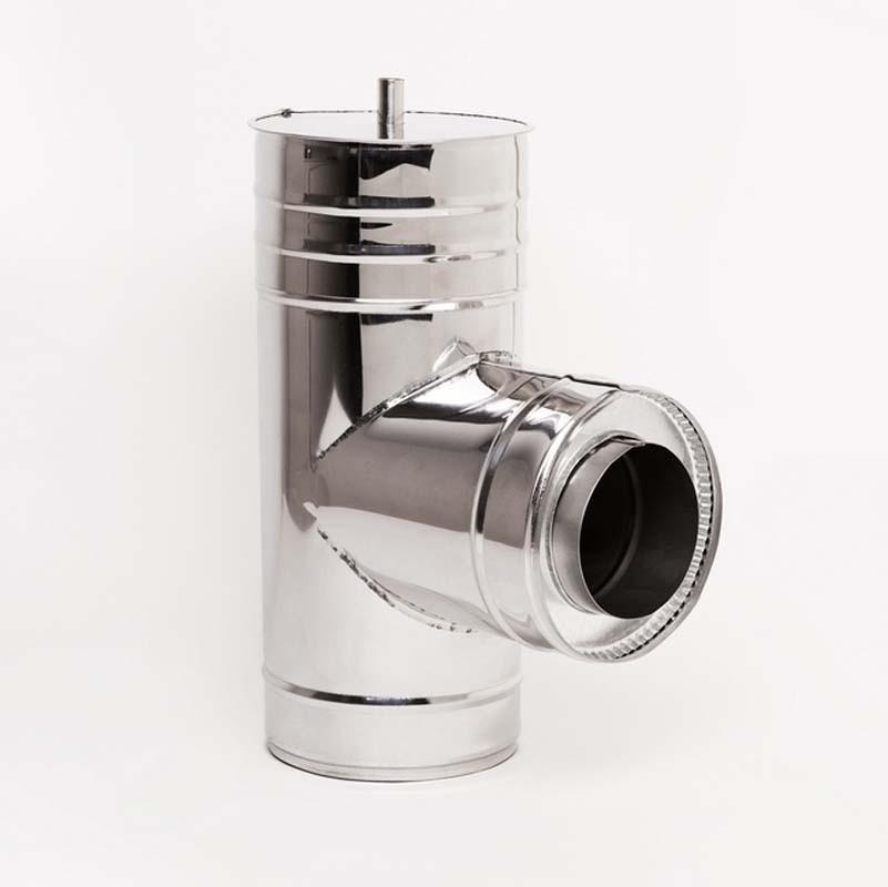 Н/Н Тройник 90° двуст. (АISI 304/430) d110/180 мм
