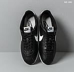 Мужские кроссовки Nike Cortez (черно-белые), фото 4