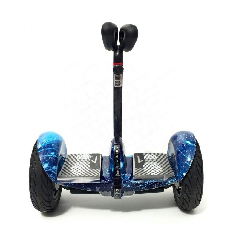 """Мини Сигвей Mini Robot колеса 10.5"""" Bluetooth синий космос"""