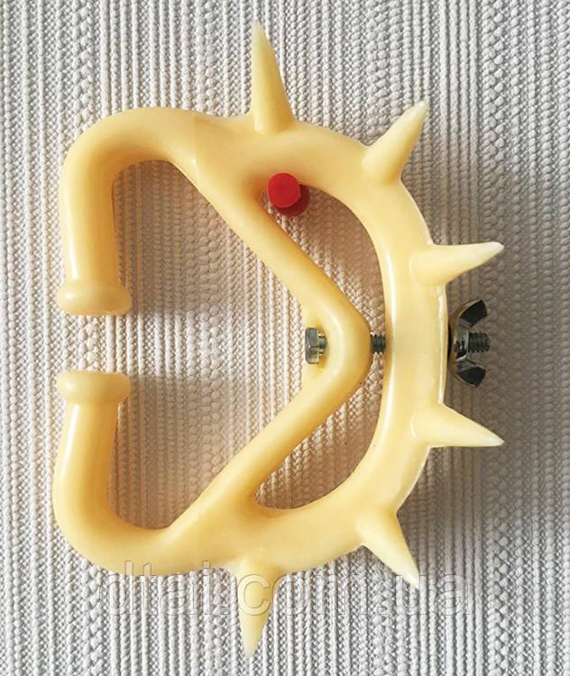 Кольцо носовое пластиковое Müller с шипамидля телят от выдаивания коров KERBL Германия