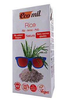 Органическое рисовое молоко Без Лактозы Ecomil 1000 мл