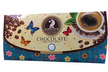 """Шоколад чёрный с кофе """"Клатч"""" Сладкий Мир 70 г"""