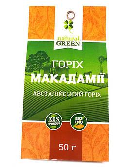 Макадамии орех NATURAL GREEN 50 г