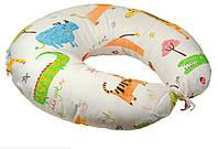 Подушка для кормления с силиконовым наполнителем + наволочка Руно 909 Jungle