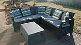 Allibert Corfu Relax Set садовая мебель из искусственного ротанга ( Corfu Relax ), фото 6