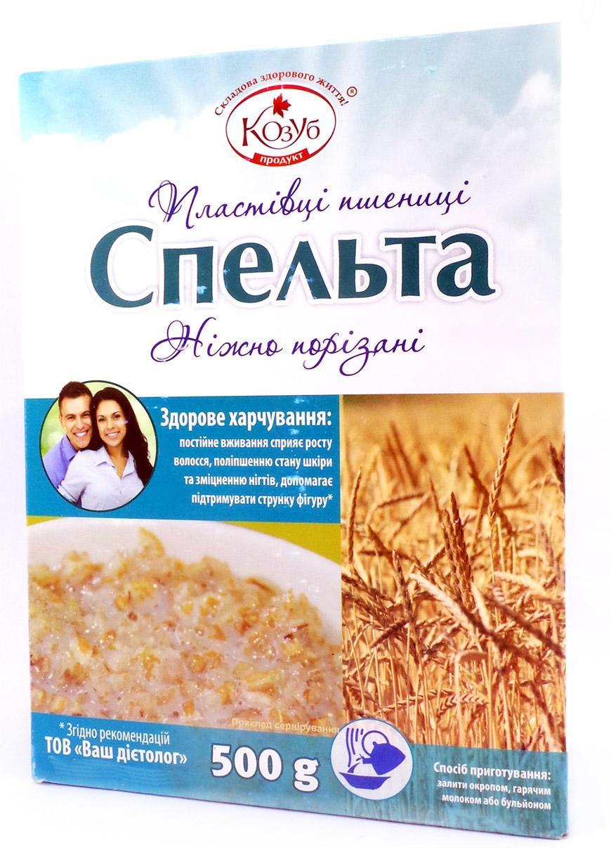 Хлопья пшеницы Спельта Козуб 500 г