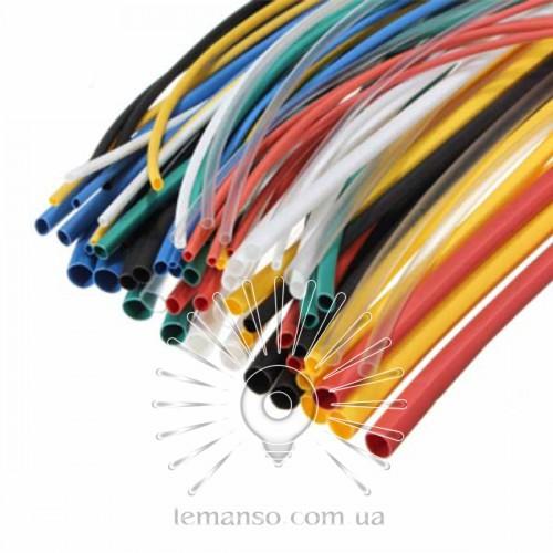 Трубка термоусадочная D=8,0мм/1метр LEMANSO коэф. усадки 2:1 красная