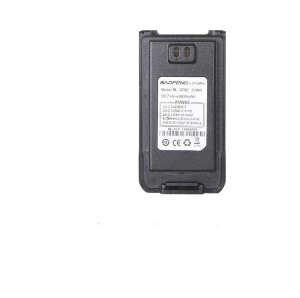 Оригинальный аккумулятор для Baofeng9700, A58,T57