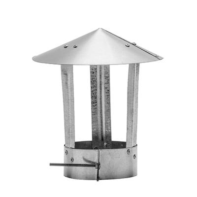 Зонт вент. d90-100 мм