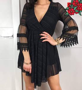 Шикарное платье шорты