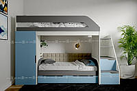Двухъярусная кровать Нью-Йорк Lion
