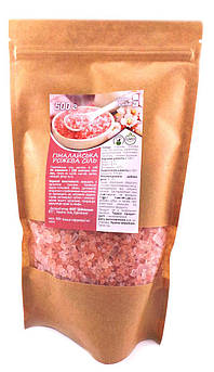 Соль розовая гималайская Средний Помол Vegan Prod 500 г