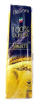 """Макарони """"Спагетті"""" №5 з твердих сортів пшениці Belinni 500г"""